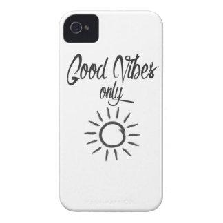Nur gute Schwingungen iPhone 4 Etuis