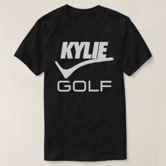 Nur Kylie Golf-Frontenentwurf (Schwarzes) T-Shirt
