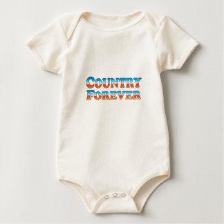 Nur Land-für immer - Kleidung Baby Strampler