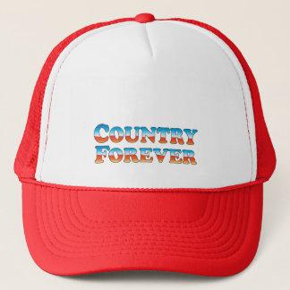Nur Land-für immer - Kleidung Truckerkappe