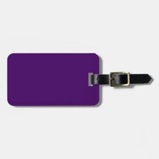 Nur lila tiefer cooler Normallack OSCB15 Gepäckanhänger