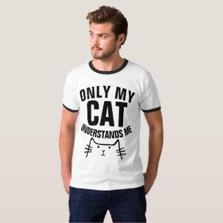 NUR MEIN CAT VERSTEHT MICH lustige T - Shirts