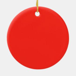 Nur rustikaler Normallack OSCB35 der roten Tomate Keramik Ornament