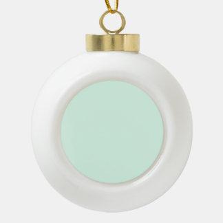 Nur tadelloser grüner hübscher Pastellnormallack Keramik Kugel-Ornament