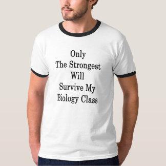 Nur The Strongest überlebt meinen T-Shirt