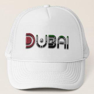 Nur Typografie-eleganter Text Dubais UAE Truckerkappe