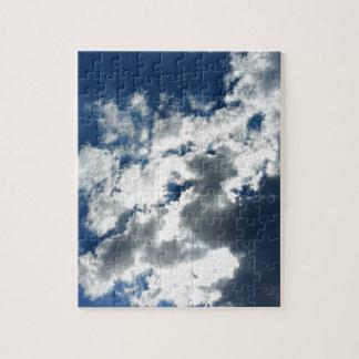Nur Wolken Puzzle