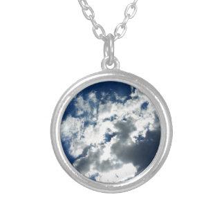 Nur Wolken Versilberte Kette