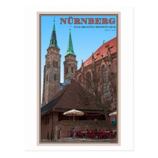 Nürnberg - Bratwursthäusle Postkarte