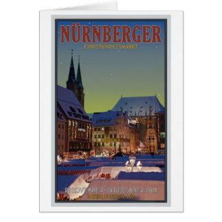 Nürnberg Christkindlesmarkt Karte