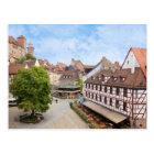 Nürnberg-Postkarte Postkarte
