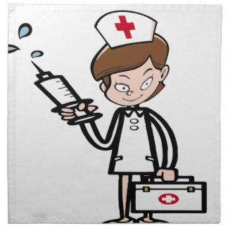 nurse20 stoffserviette