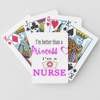 nurse22 bicycle spielkarten