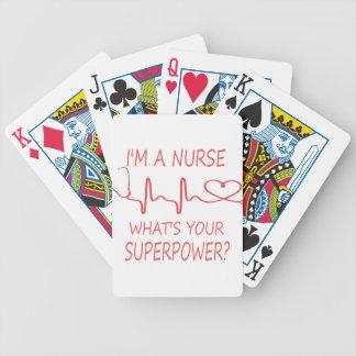 nurse3 bicycle spielkarten