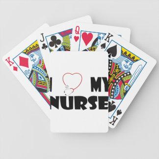 nurse5 bicycle spielkarten