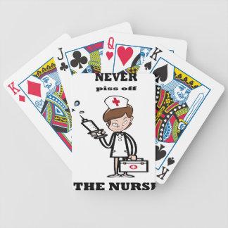 nurse7 bicycle spielkarten
