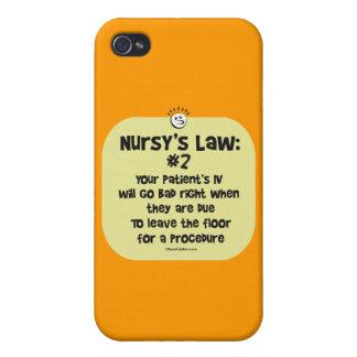 Nursys Gesetz Nr. 2- IVs, das schlecht geht iPhone 4/4S Cover