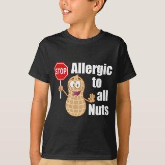 Nuss-Allergie T-Shirt