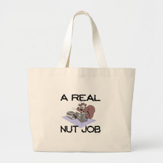 Nuss-Job Jumbo Stoffbeutel