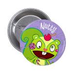 Nussartiger niedlicher Knopf Button