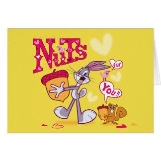 Nüsse Bugs Bunny | für Sie Karte