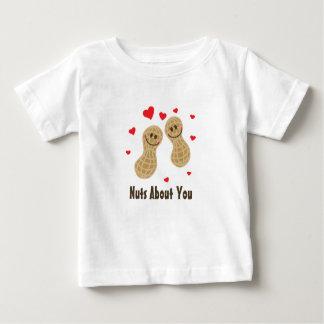 Nüsse über Sie niedlicher Baby T-shirt