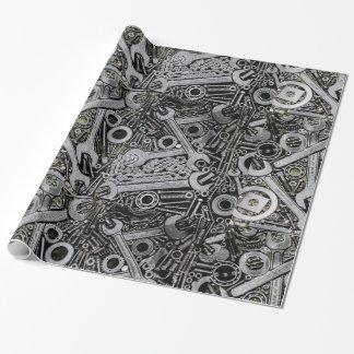 Nüsse - und - Bolzen Einpackpapier