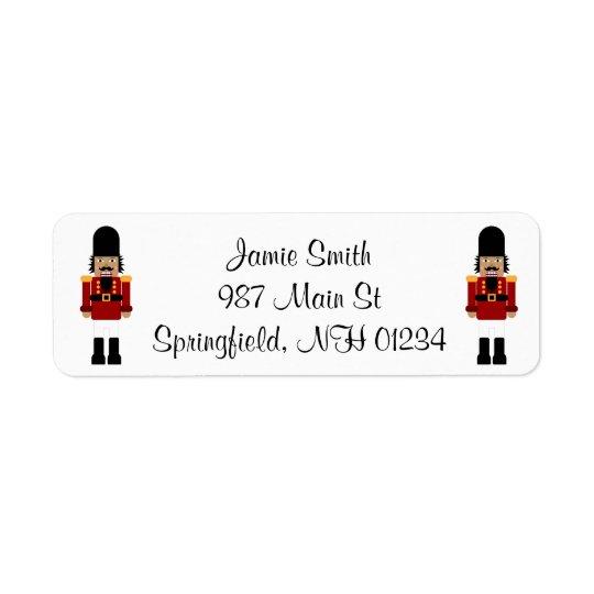 Nussknacker-Adressen-Etiketten