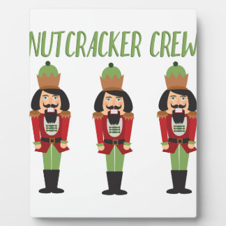 Nussknacker-Crew Fotoplatte