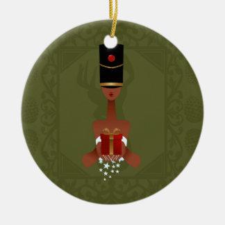 Nussknacker-Feriengeschenk-Weihnachtsverzierung Keramik Ornament
