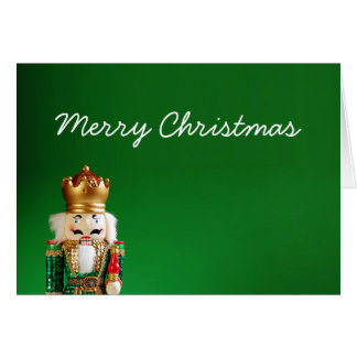 Nussknacker-frohe Weihnachten Karte