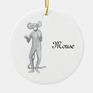 Nussknacker-Mäuseandenken-Verzierung Keramik Ornament