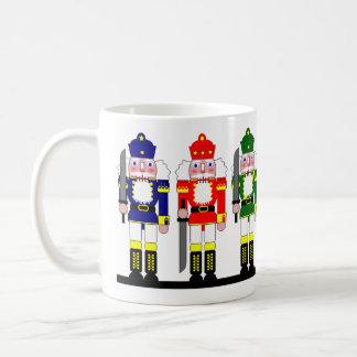 Nussknacker-Weihnachten personalisiert Kaffeetasse