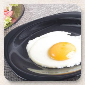 Nützliches selbst gemachtes Frühstück des Getränkeuntersetzer