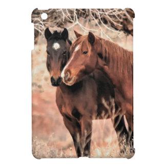 Nuzzling Pferde iPad Mini Hülle
