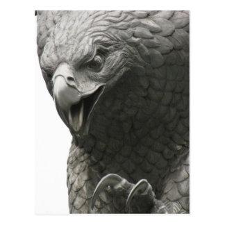 NY Eagle Postkarte