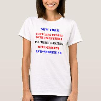 NY Emphysem-Anzeige T-Shirt