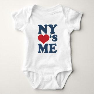 NY Lieben ich Baby Strampler