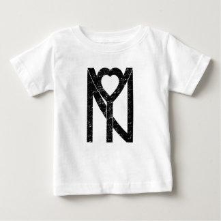 NY New York Liebe Baby T-shirt