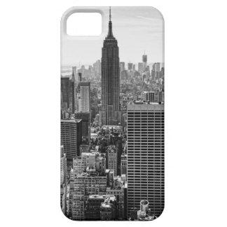 NY Stadtskyline-Reich-Staats-Gebäude, WTC BW iPhone 5 Hüllen