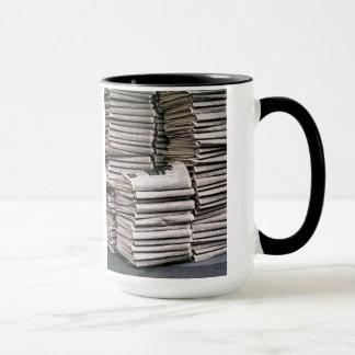 NY Zeiten: Sonntag Morgen Tasse