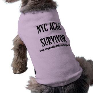 NYC ACC-ÜBERLEBENDER Hundeshirt Shirt