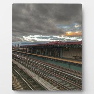 NYC Bahnen Fotoplatte