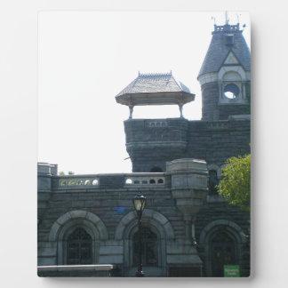 NYC Belvedere-Schloss Fotoplatte