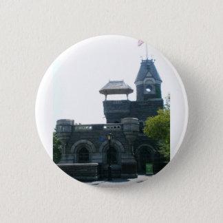 NYC Belvedere-Schloss Runder Button 5,1 Cm