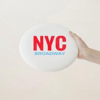 NYC Broadway Wham-O Frisbee