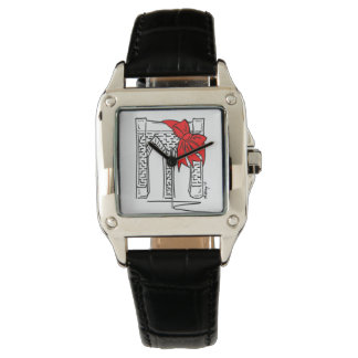 NYC Brooklyn Brücken-Liebe-Weihnachtsvalentine-Uhr Armbanduhr