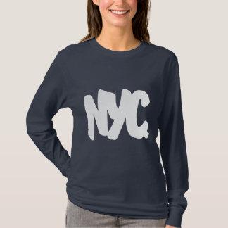 NYC Buchstaben T-Shirt