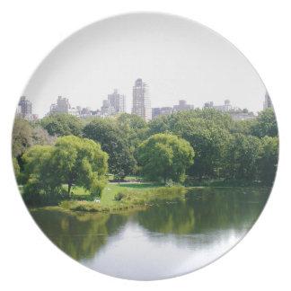 NYC Central Park-Skyline Teller