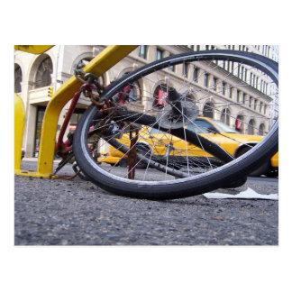 NYC Fahrrad Postkarte